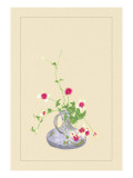 Clematis Wall Decal by Sofu Teshigahara
