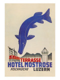 Hotel Mostrose Luzern Wall Decal by Straub