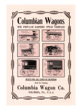 Columbian Wagons Wall Decal