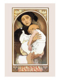Russia Restituenda Wall Decal by Alphonse Mucha