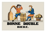 Bonne Double Bier Wallsticker