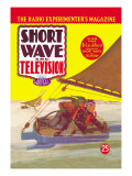 Short Wave and Television: Radio Controlled Ice Sailing Wall Decal