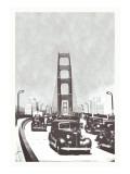 The Golden Gate Bridge, San Francisco, California Wall Decal
