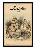 Judge Magazine: Brice, Boodle and Cleveland Wall Decal by Victor