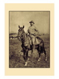 Colonel Roosevelt of the Rough Riders Autocollant mural