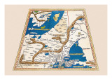Untitled Map Wall Decal by  Ptolemy