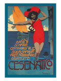 Cesenatico Wall Decal by Roberto Franzoni