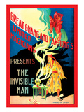 United Magicians Presents: The Invisible Man Wall Decal