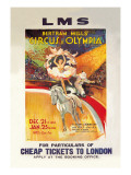 Bertram Mills' Circus at Olympia Wall Decal