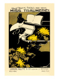 Miss Traumerei Wall Decal by Fred Taylor