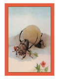 The Sisyphus Wall Decal by Edward Detmold