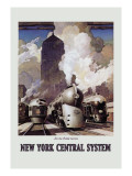 New York Central System Wall Decal by Leslie Ragan