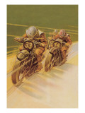 Motorcycle Racing Wall Decal