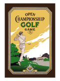 Open Championship Golf Game Wall Decal