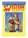 Western Story Magazine: They Ruled the West Wall Decal