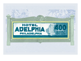 Hotel Adelphia, Philadelphia Wall Decal