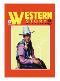 Western Story Magazine: Western Style Wall Decal