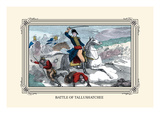 Battle of Tallushatchee Wall Decal by  Devereux