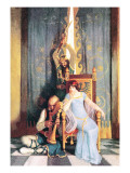 Death of King Mark Wall Decal by Newell Convers Wyeth