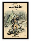 Judge Magazine: under False Colors Wall Decal by Bernhard Gillam