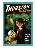 Thurston the Great Magician: Do the Spirits Come Back Wall Decal