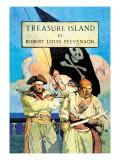 Treasure Island Wall Decal by Newell Convers Wyeth