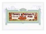 Moody and Water's Pies Co. Wall Decal