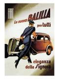 Fiat Balilla Wall Decal