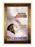 Dentrifices du Docteur Pierre Wall Decal by Louis Remy Sabattier