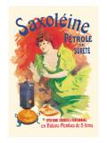 Saxoleine Petrole de Surete Extra Blanc Wall Decal by Jules Chéret
