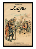 Judge Magazine: The Democratic Rip Van Winkle Wall Decal by Victor