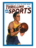 Thrilling Sports: Basketball Wall Decal