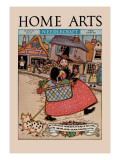 Home Arts: to Market Wall Decal by Mary Wright Jones