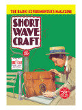 Short Wave Craft: Build This New Briefcase Short Wave Receiver Wall Decal