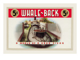 Whale-Back Cigars Wall Decal