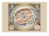 Orbium Planetarum Terram Wall Decal by Andreas Cellarius