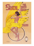 Stucchi Bicycles Wall Decal by Gian Emilio Malerba