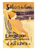 Salon des Cent: Exposition Internationale d'Affiches Wall Decal by Henri de Toulouse-Lautrec