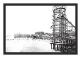 Amusement Park, Long Beach, California Wall Decal by William Henry Jackson