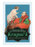 Krupni'K Tea: The Original Polish Specialty Wall Decal