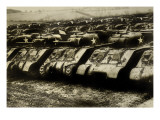 Sherman Tanks Wall Decal