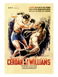 Cerdan vs. Williams Wall Decal