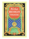 Werba's Brooklyn Theatre Wall Decal