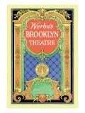Werba's Brooklyn Theatre Wall Decal