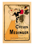 Cycles Medinger Wall Decal by Georges-alfred Bottini