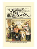 Puck Magazine: The Anarchist Fortune-Teller's Dupe Wall Decal by Frederick Burr Opper