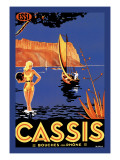 Cassis: Bouches du Rhone Wall Decal
