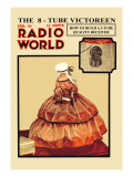 Radio World: The 8-Tube Victoreen Wall Decal