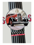 Panhard, Cars Rapides Wall Decal
