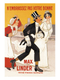 Max Linder Movie Poster Wall Decal